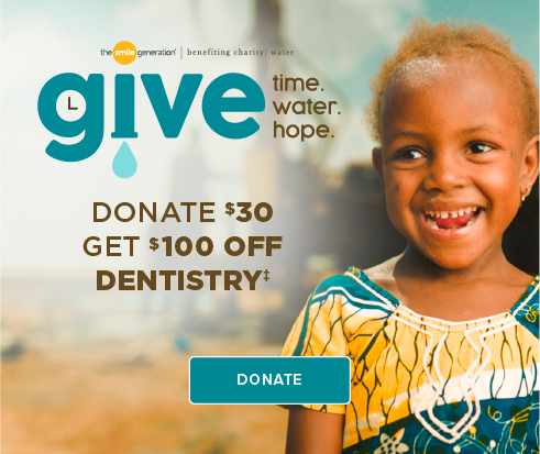 Donate $30, Get $100 Off Dentistry - Cortaro Smiles Dentistry and Orthodontics